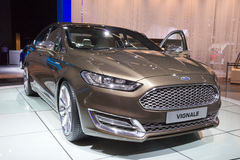 Ford Mondeo Vignale-auto Royalty-vrije Stock Afbeeldingen