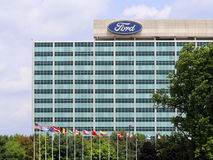 Ford Motor Company World Headquarters Royalty-vrije Stock Afbeelding