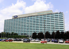 Ford Motor firmy światu kwatery główne Zdjęcia Royalty Free