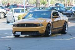 Ford Mustang上司302 库存图片