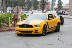 Ford Mustang在显示的上司302汽车 免版税图库摄影