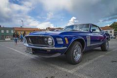 1970年Ford Mustang小轿车 免版税库存图片