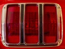 Ford Mustang尾灯  免版税库存照片