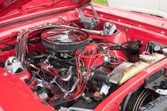 Ford Mustang引擎 免版税图库摄影