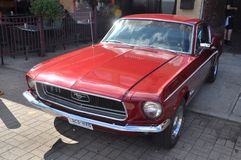 1965年Ford Mustang敞篷车 免版税库存图片