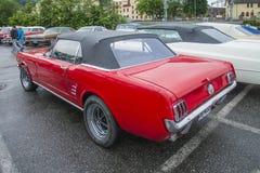 1966年Ford Mustang敞篷车 库存照片