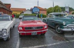 1966年Ford Mustang敞篷车 免版税库存照片