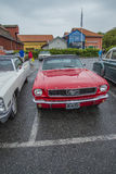 1966年Ford Mustang敞篷车 库存图片
