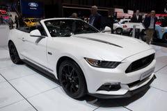 Ford Mustang敞篷车sportscar 库存图片