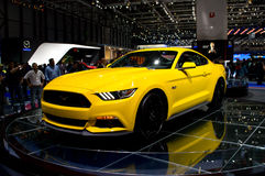 Ford Mustang日内瓦2014年 免版税库存图片