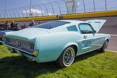 1967年Ford Mustang汽车 免版税库存照片