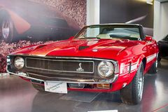 Ford Mustang谢尔比GT350 1969年 图库摄影