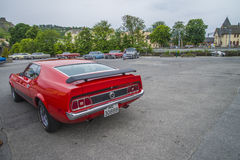 Ford Mustang马赫1, mod。1974年 库存照片