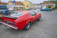 Ford Mustang马赫1, mod。1974年 免版税库存照片