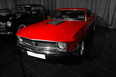 1970年Ford Mustang马赫1 库存图片
