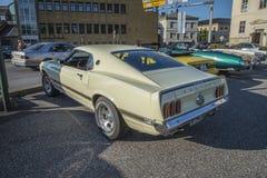 1969年Ford Mustang马赫1 免版税图库摄影