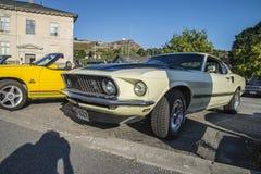 1969年Ford Mustang马赫1 免版税库存照片