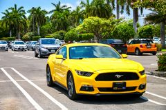 Ford mustang Obrazy Stock
