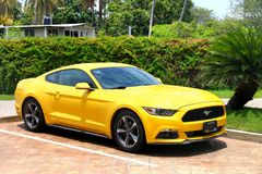 Ford Mustang 库存照片