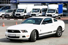 Ford Mustang Stock Afbeelding