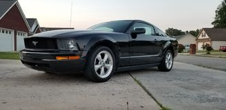 Ford Mustang 2005 стоковое фото