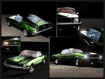 Ford-Mustang 1967 stock abbildung