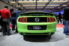 Ford Mustang 2013年 库存照片