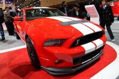 Ford Mustang 2013年 免版税库存图片