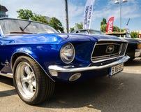 Ford Mustang 1967年 免版税库存照片