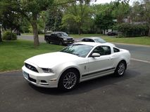 Ford Mustang Stockbild