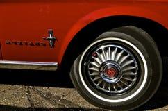 1967年Ford Mustang 免版税库存图片