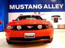 Ford Mustang Alley Stock Photo