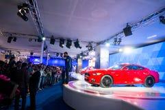 Ford mustang at auto expo delhi 2016 Stock Photos