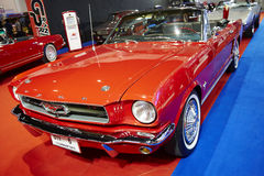 Ford Mustang-auto op vertoning in 36ste Bangkok Internationaal M Stock Afbeeldingen