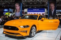 Ford Mustang bij IAA 2017 Royalty-vrije Stock Fotografie