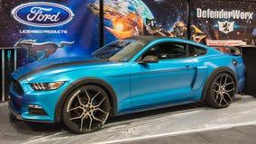 Ford Mustang bij SEMA Royalty-vrije Stock Afbeeldingen