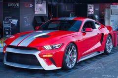 Ford Mustang bij SEMA Royalty-vrije Stock Afbeelding