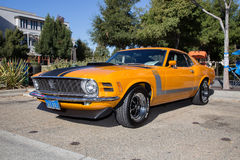 Ford Mustang Boss 302 Royalty Free Stock Image