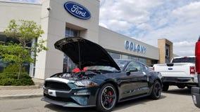 Ford Mustang Bullitt 2019 Fotografía de archivo libre de regalías