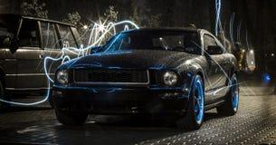 Ford Mustang Bullitt Stock Afbeelding