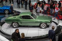 Ford Mustang Bullitt clasic sports car