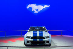 Ford Mustang car on display at the LA Auto Show. Royalty Free Stock Images
