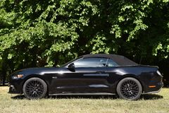 Ford Mustang 5 Convertibele 0 V8 GT Royalty-vrije Stock Foto's