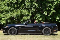 Ford Mustang 5 0 convertibili di V8 GT Fotografia Stock Libera da Diritti