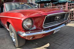 1965 Ford Mustang Convertible Royalty Free Stock Photography