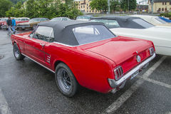 1966 ford mustang convertible Stock Photos