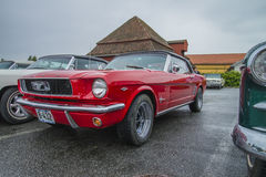 1966 ford mustang convertible Royalty Free Stock Photos