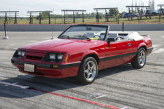 Ford mustang convertible stock image