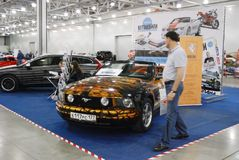 Ford Mustang Convertible V Royalty-vrije Stock Foto's