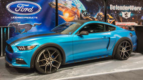 Ford Mustang em SEMA Imagens de Stock Royalty Free